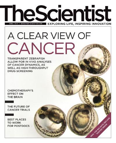 The Scientist April (2013)