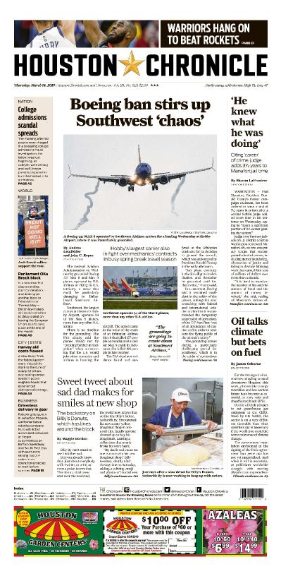 Houston Chronicle - March 14, (2019)