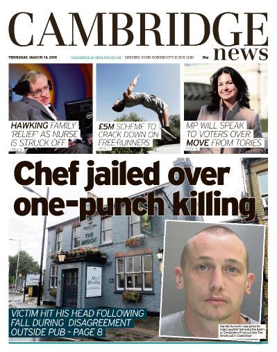 Cambridge News - March 14, (2019)