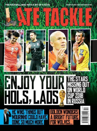 Late Tackle Football  December 2017  January (2018)