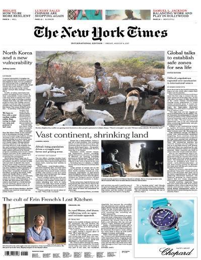 International New York Times  4 Augu (2017)