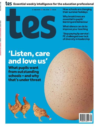 Times Educational Supplement - July 27 (2018)