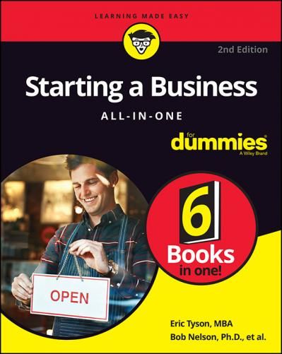 Starting a Business All-in-One For Dummies - Bob Nelson