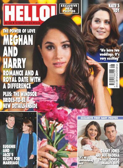 Hello 33 Magazine UK - 19 February (2018)