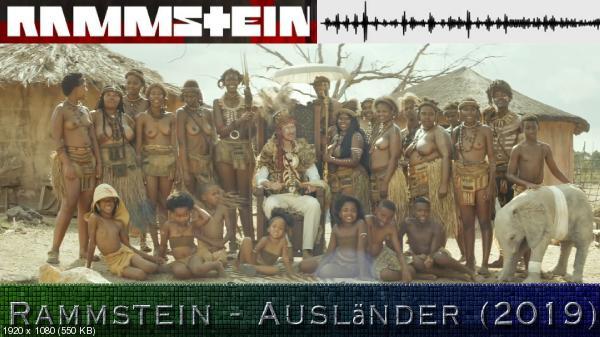 Rammstein - Ausländer [клип] (2019) WEBRip 1080p