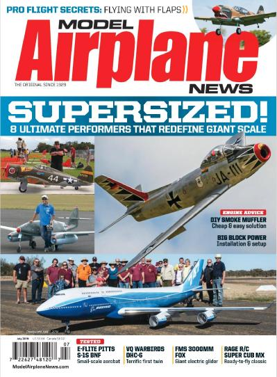 Model Airplane News  July (2019)