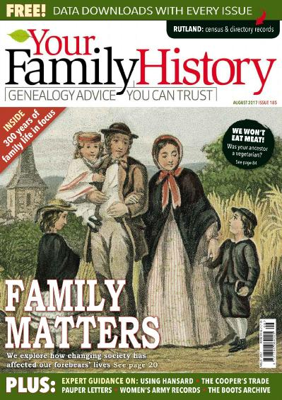 Your Family History  August (2017)