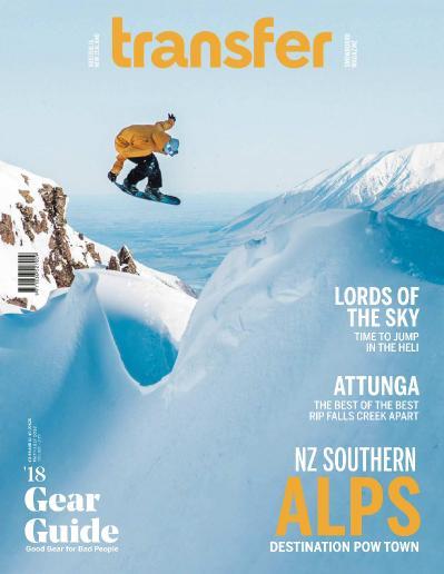 Transfer Snowboard Magazine - May (2018)