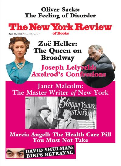 The New York Review of Books - April 23 (2015)