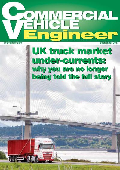 Commercial Vehicle Engineer  September (2017)