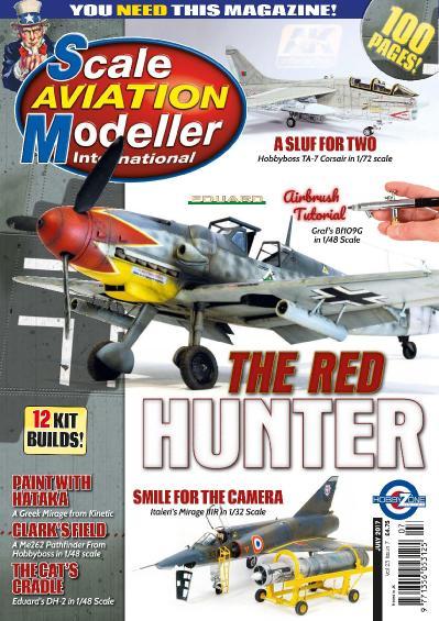 Scale Aviation Modeller International July (2017)