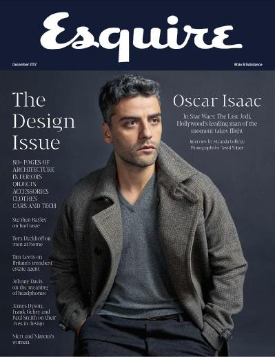 Esquire UK  December (2017)