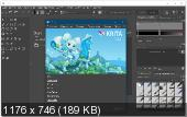 Krita Studio Portable 4.2.1 + Manual 32-64 bit FoxxApp