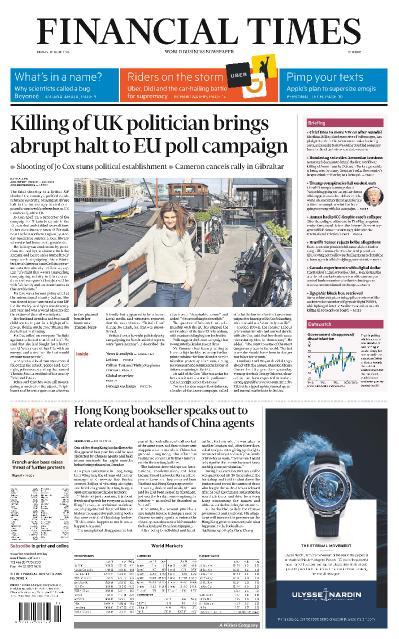 Financial Times Europe June 17 (2016)