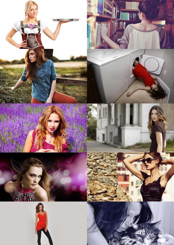 Beautiful And Amazing Girls Wallpapers Set   64
