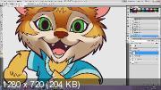 Персонажная иллюстрация в программе Adobe Photoshop (2017) Видеокурс