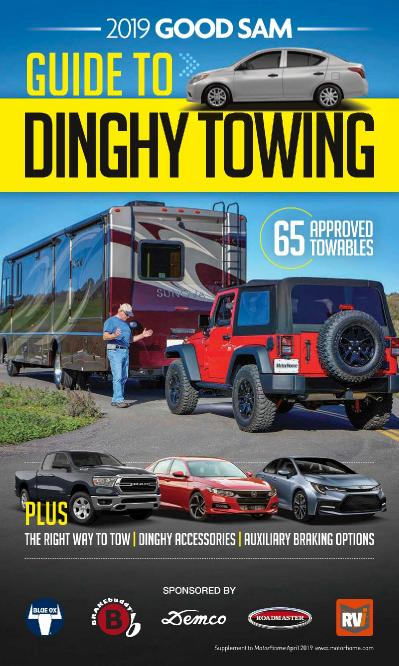 Motor Home - Guide to Dinghy Towing (2019)
