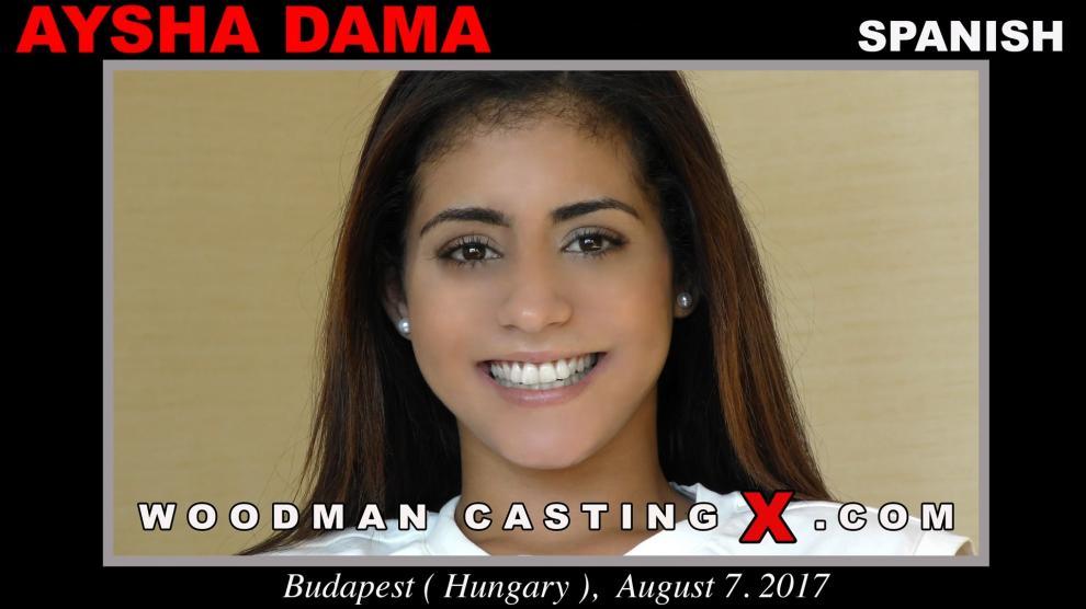 [WoodmanCastingX.com] Aysha Dama (19.03.2019) [Anal, All Sex, Blowjob, POV,480p]