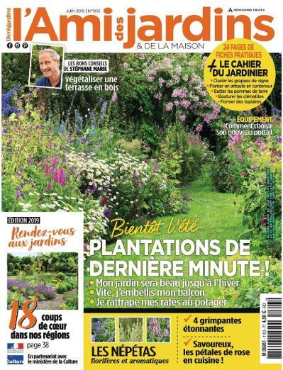 L Ami Des Jardins et De La Maison N 1103 Juin (2019)