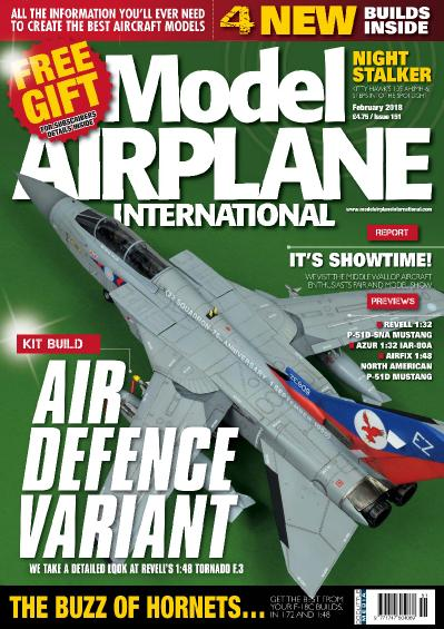 Model Airplane International Issue 151 February (2018)