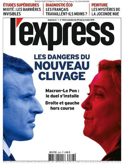 L ' Express - 29 05 2019 - 04 06 (2019)