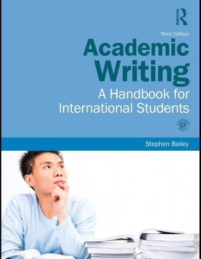 Academic Writing Stephen Bailey