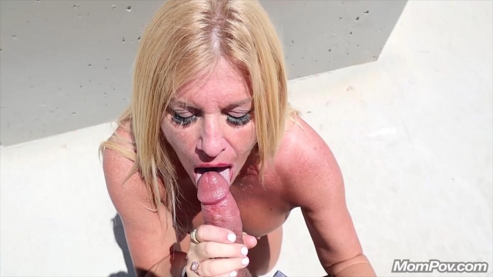 [MomPov.com] Kerrie - Busty blonde public fun [2019 г., All Sex, Blowjobs, POV, MILF, Big Tits, 404p]