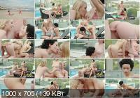 Enjoy Threesome by the Pool - Stacy Bloom, Amaris Enjoy | Private | 14.06.2019 | FullHD | 2.13 GB