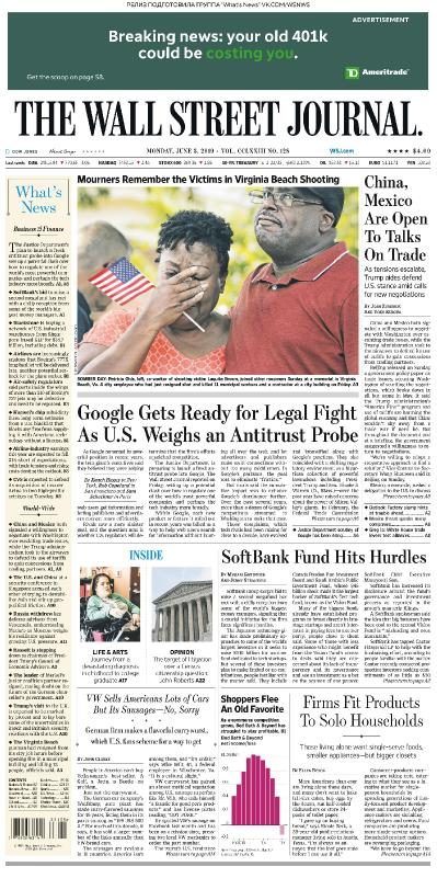 The Wall Street Journal - 03 06 (2019)