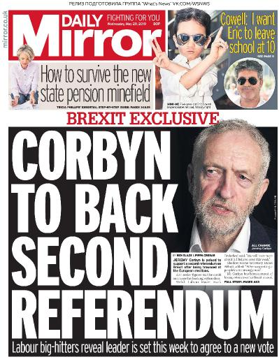 Daily Mirror - 29 05 (2019)