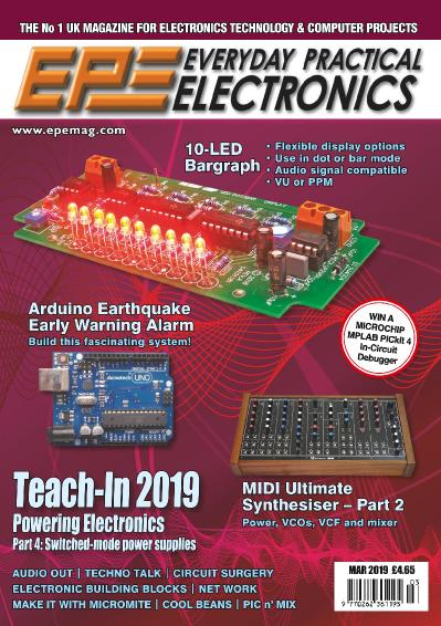 Everyday Practical Electronics  March (2019)