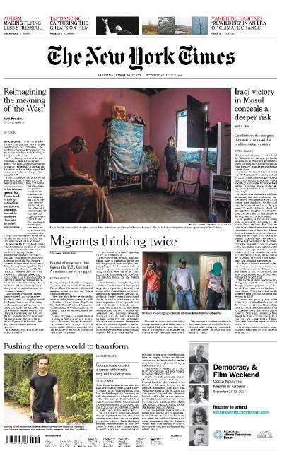 International New York Times 12 July (2017)