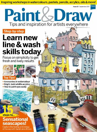 Paint & Draw  Issue 12  September (2017)