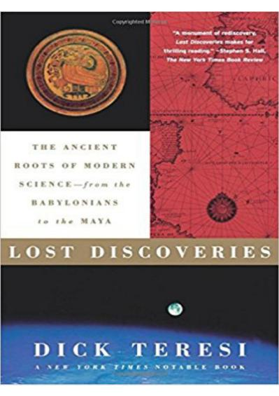Lost Discoveries- The Ancient Roots  Dick Teresi