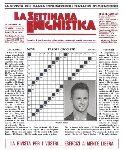 La Settimana Enigmistica 23 Novembre (2017)