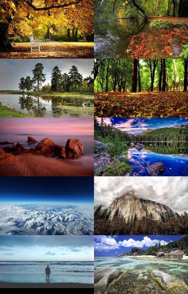Amazing Nature Wallpapers {pack 190}