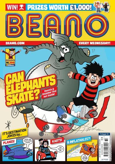 The Beano 18 August (2018)