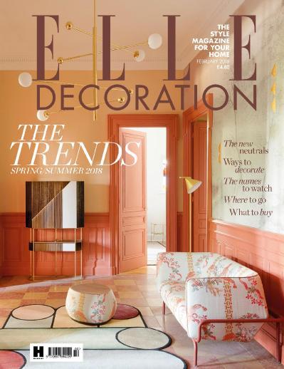 Elle Decoration UK  February (2018)