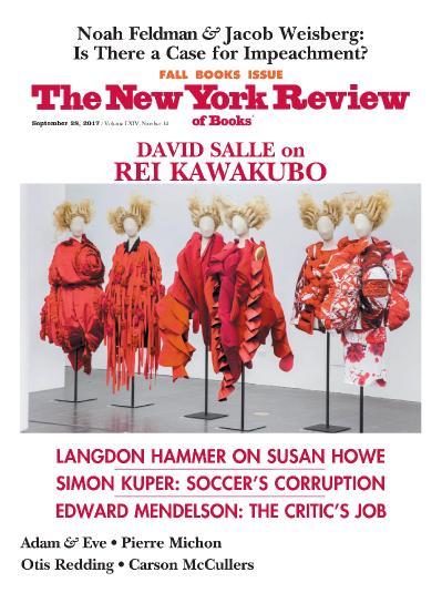 The New York Review of Books  September 28 (2017)