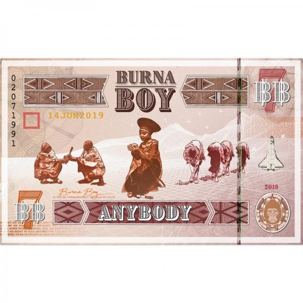 Burna Boy Anybody Single  (2019) Enraged