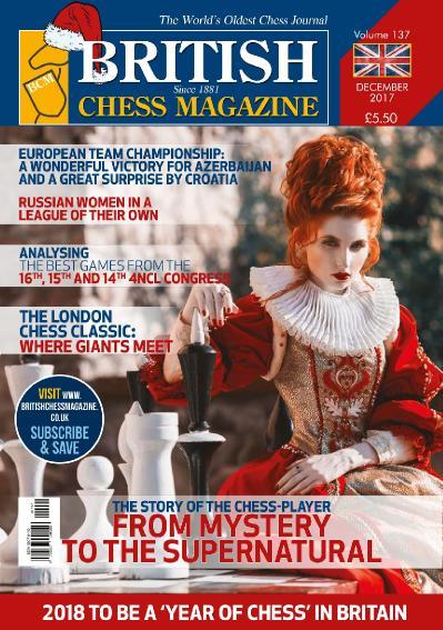 British Chess Magazine  December (2017)