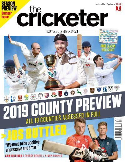 The Cricketer Magazine - April (2019)