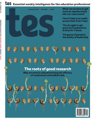 Times Educational Supplement - February 15 (2019)