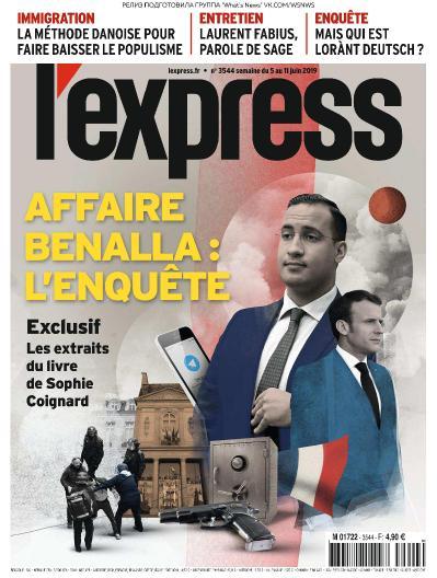 L ' Express - 05 06 2019 - 11 06 (2019)