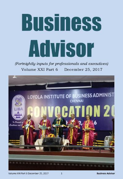 Business Advisor  December 25 (2017)