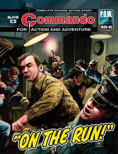 Commando :On The Run !