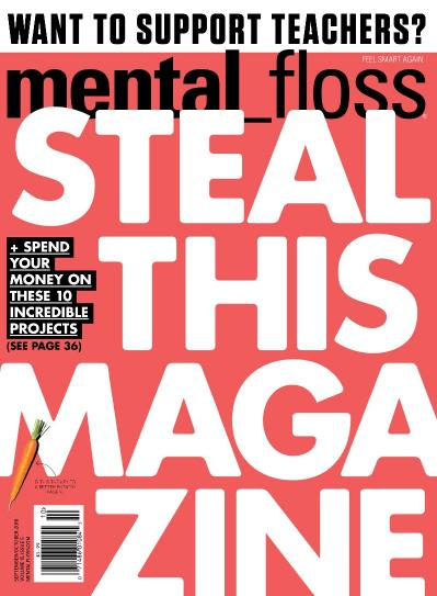 Mental Floss: Steal This Magazine