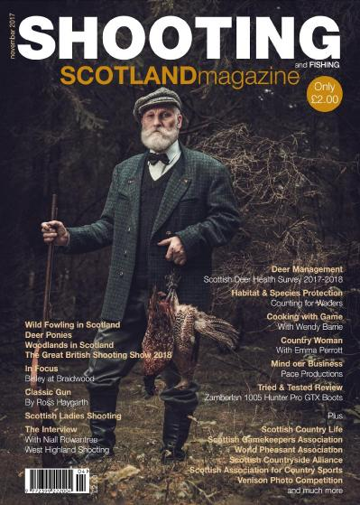 Shooting and Fishing Scotland  October-November (2017)