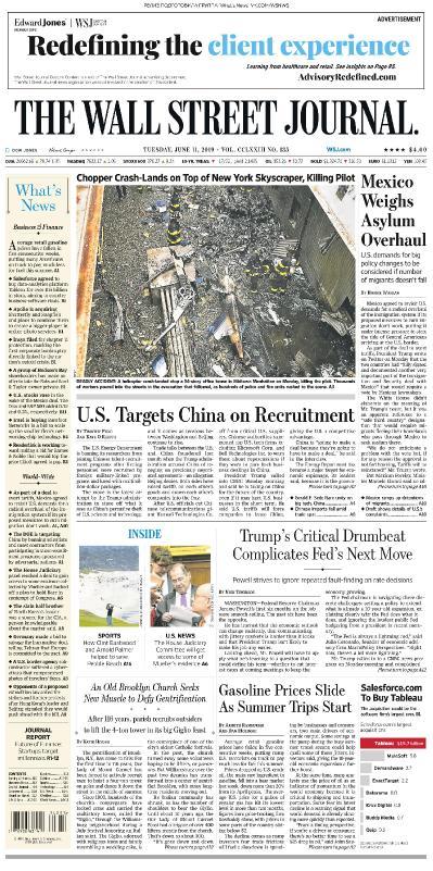 The Wall Street Journal - 11 06 (2019)