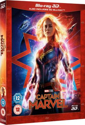 Капитан Марвел / Captain Marvel (2019) BDRip 1080p | 3D | IMAX Edition | iTunes